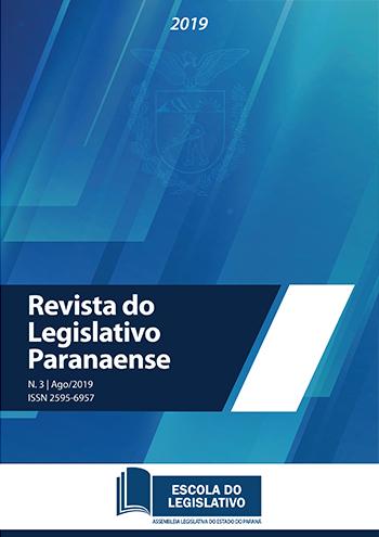Capa da Revista do Legislativo Paranaense N.3